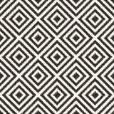 Nahtloses geometrisches Rautenmaschenmuster Lizenzfreies Stockbild