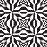 Nahtloses geometrisches Retro- Design-Muster vektor abbildung