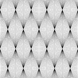 Nahtloses geometrisches Retro- Muster-Design stock abbildung
