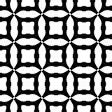 Nahtloses geometrisches Schwarzweiss-Muster lizenzfreie stockfotos