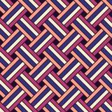 Nahtloses geometrisches vektormuster Stockfotografie