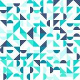 Nahtloses geometrisches, Weinlesemuster mit Stockfotografie