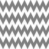 Nahtloses geometrisches Zickzackmuster. vektor abbildung