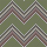 Nahtloses gesticktes handgemachtes ethnisches Muster Lizenzfreie Stockbilder
