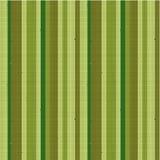 Nahtloses gestreiftes Gewebemuster, grün Stockfotografie