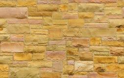 Nahtloses Gold und rosafarbener Maurerarbeithintergrund Lizenzfreies Stockbild