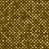 Nahtloses goldenes abstraktes Muster Druck des Goldes spielt, Rauten auf dunklem Hintergrund die Hauptrolle stock abbildung
