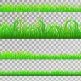 Nahtloses grünes Gras Lizenzfreies Stockfoto