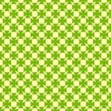 Nahtloses grünes Muster Stockfotografie