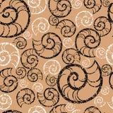 Nahtloses grunge BADEKURORT-Muster Stockbild