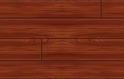 Nahtloses hölzernes Muster (Vektor) Stockfotos