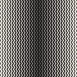 Nahtloses Halbtonmuster des Vektors Vertikaler Zickzack zeichnet Hintergrund Lizenzfreie Stockfotografie
