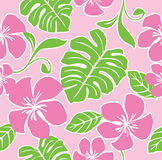 Nahtloses Hawaii-Sommer-Muster lizenzfreie abbildung