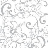 Nahtloses hawaiisches Hochzeits-Muster Stockfoto
