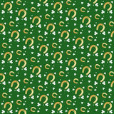 Nahtloses Heiliges Patrick Day Background Stockbild