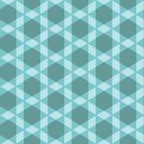 Nahtloses hellblaues Muster mit Schrägstreifen Lizenzfreie Stockbilder