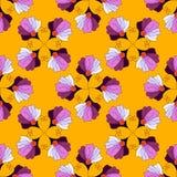 Nahtloses helles Blumenmuster Lizenzfreie Stockbilder