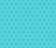 Nahtloses helles Spaß-Zusammenfassungs-Verzierungs-Muster stock abbildung