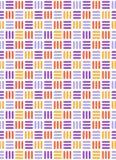Nahtloses helles Spaßzusammenfassungsmosaik strickte Muster an Stockfoto