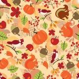 Nahtloses Herbstmuster Stockfotografie