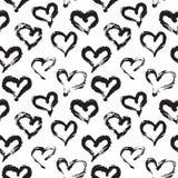 Nahtloses Herz-Muster Stockbilder