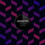 Nahtloses Hintergrunddesign ENV 10 des modernen abstrakten geometrischen Musterschablonenvektors Stockfoto