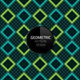 Nahtloses Hintergrunddesign ENV 10 des modernen abstrakten geometrischen Musterschablonenvektors Lizenzfreie Stockfotografie