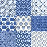 Nahtloses japanisches Muster Stockbilder