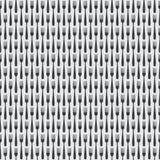 Nahtloses Küchen-Tischbesteck-Gabel-Muster Stockfoto