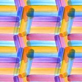 Nahtloses künstlerisches Designaquarell-Fleckmuster Lizenzfreie Stockbilder