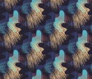 Nahtloses künstlerisches Muster Stockfoto