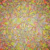 Nahtloses Kaleidoskopmuster des Vektors Stockbilder