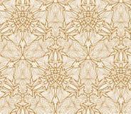 Nahtloses Kaleidoskopmuster des Vektors Lizenzfreies Stockfoto