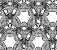 Nahtloses Kaleidoskopmuster des Vektors Stockfotografie
