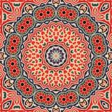 Nahtloses khayameya Musterdesign 003 Lizenzfreies Stockfoto