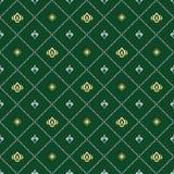 Nahtloses klassisches Muster Stockbild