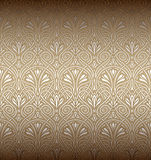 Nahtloses Kunst Nouveau Muster stockfotografie
