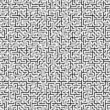 Nahtloses Labyrinthmuster des großen Umfangs lizenzfreie stockfotografie