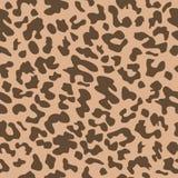 Nahtloses Leopard Muster Abbildung Abstrakter Tierhintergrund f?r Gewebe lizenzfreie abbildung
