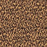 Nahtloses Leopard Muster Tierhautbeschaffenheit Lizenzfreies Stockfoto