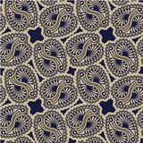 Nahtloses Luxus-Paisley Lizenzfreies Stockbild