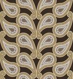 Nahtloses Luxus-Paisley Stockbild