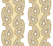 Nahtloses Luxus-Paisley Lizenzfreie Stockbilder