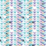 Nahtloses Mehrfarbenmuster des Dreiecks Lizenzfreie Stockfotografie