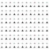 Nahtloses metallisches Dreieckmuster Stockbilder