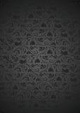 Nahtloses metallisches Muster Stockbild