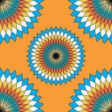 Nahtloses mexikanisches Hintergrundmuster vektor abbildung