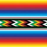 Nahtloses mexikanisches Muster Lizenzfreie Stockbilder