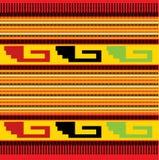 Nahtloses mexikanisches Muster Stockfoto