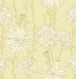 Nahtloses mit Blumenbacground Lizenzfreies Stockbild